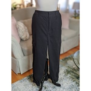 Black Fashion Cargo Pants